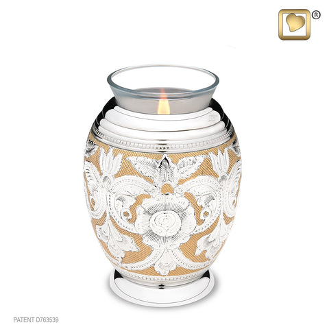 Monarch Jali (Tealight Urn)