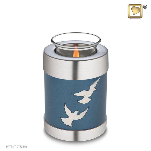 Divine Flying Doves (Tealight Urn)