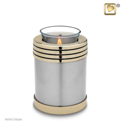 Monarch Platinum (Tealight Urn)
