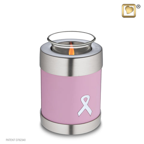 Awareness Pink (Tealight Urn)