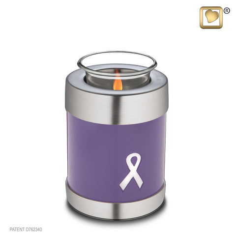 Awareness Purple (Tealight Urn)