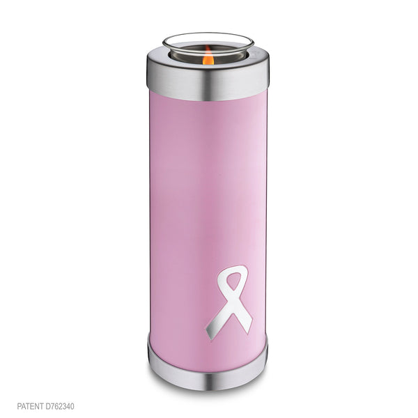 Awareness Pink Tall (Tealight Urn)