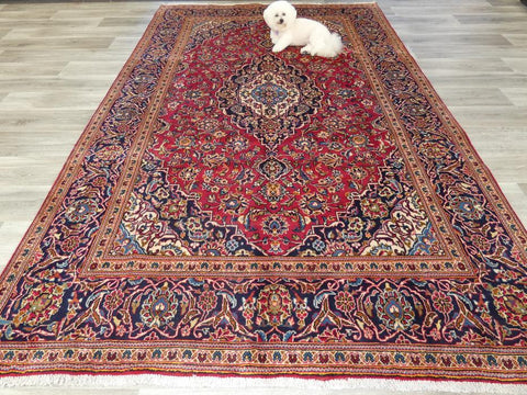 Persian hand knotted ardakan rug