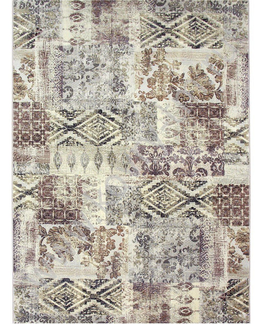 Patchwork Look Design Rug-Patchwork Rug-Rugs Direct