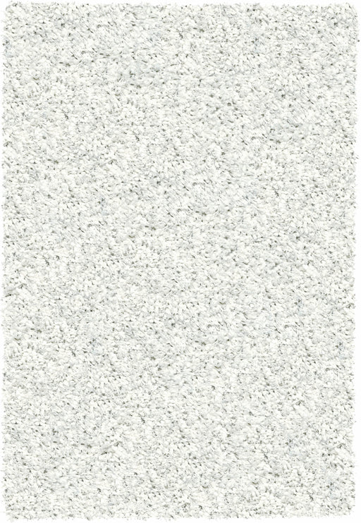 Twilight Snow White Shaggy Rugs-Shaggy Rug-Rugs Direct