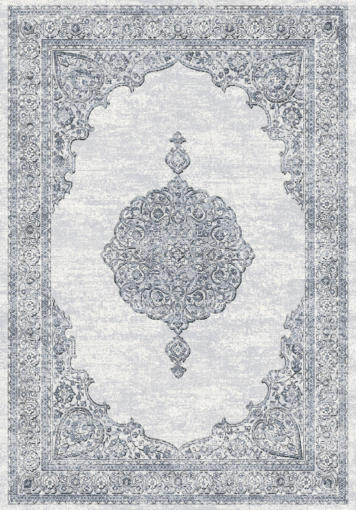 Mastercraft Faded Look Traditional Design Argentum Rug