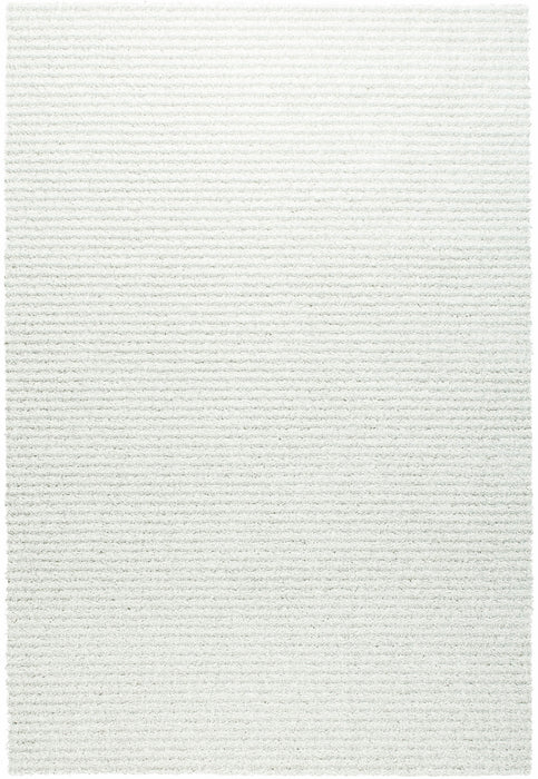 Spectrum Ivory Coulor Shaggy Rug Size:120 x 170cm