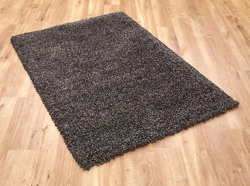 Twilight Charcoal Shaggy Rug