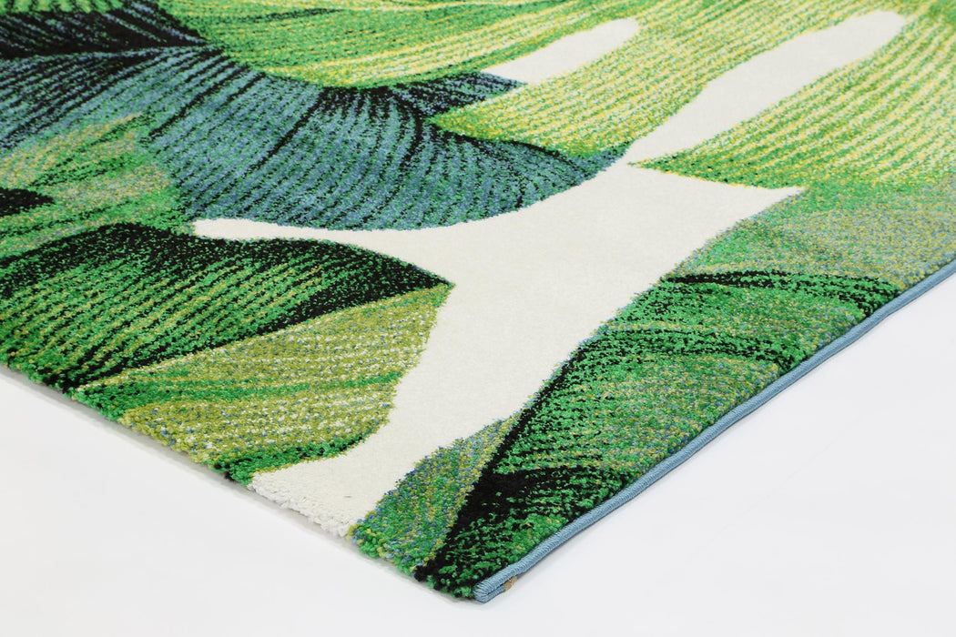 Leaf Design Modern Turkish Rug-Modern Rug-Rugs Direct