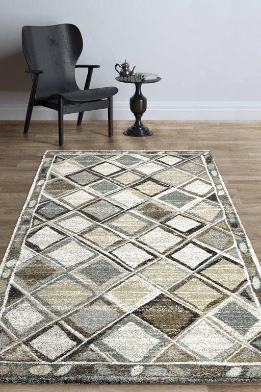 North African Berber Look Design Shaggy Rug