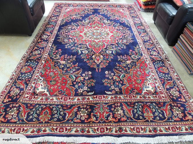 PERSIAN HAND MADE TABRIZ RUG SIZE: 303 x 188cm-Persian Rug-Rugs Direct