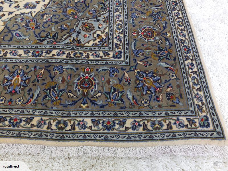 Persian Hand Knotted Kashan Rug Size: 305 x 197cm-Unclassified-Rugs Direct