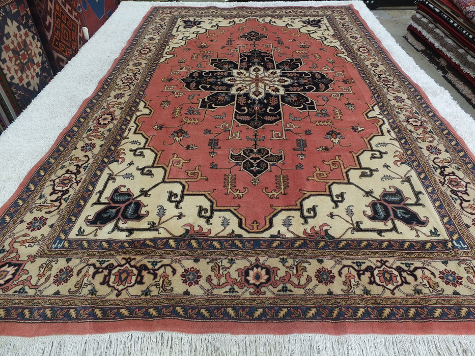 Persian Hand Knotted Ardabil Rug Size: 306 x 196cm-Persian Rug-Rugs Direct