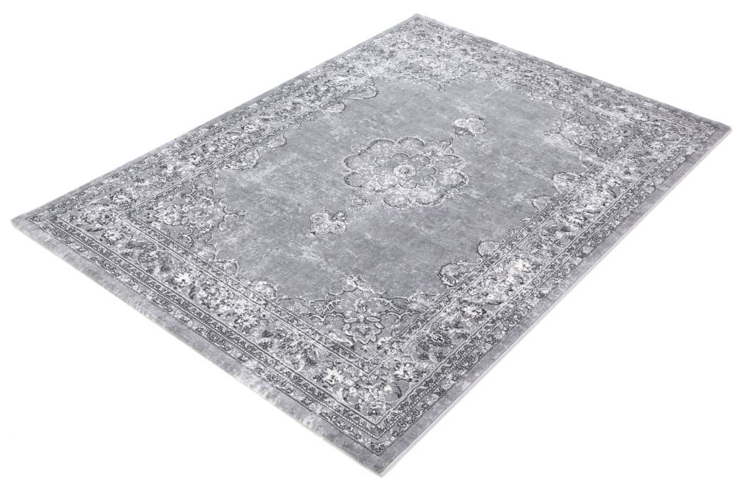 Mastercraft Faded Look Argentum Rug-Traditional Design-Rugs Direct