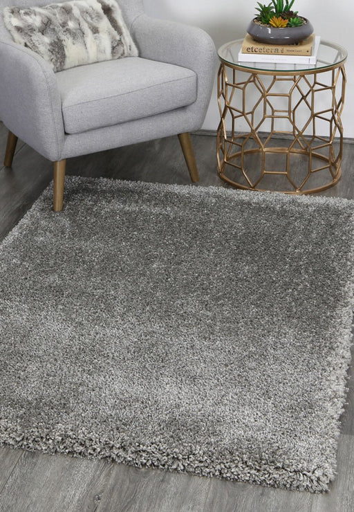 "Shaggy ""Grey"" Turkish Rug"