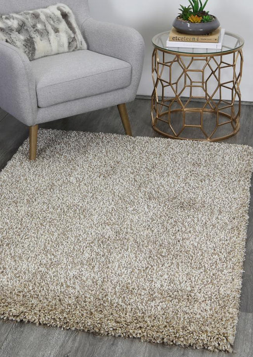 "Super Soft ""Mocha"" Shaggy Turkish Rug"