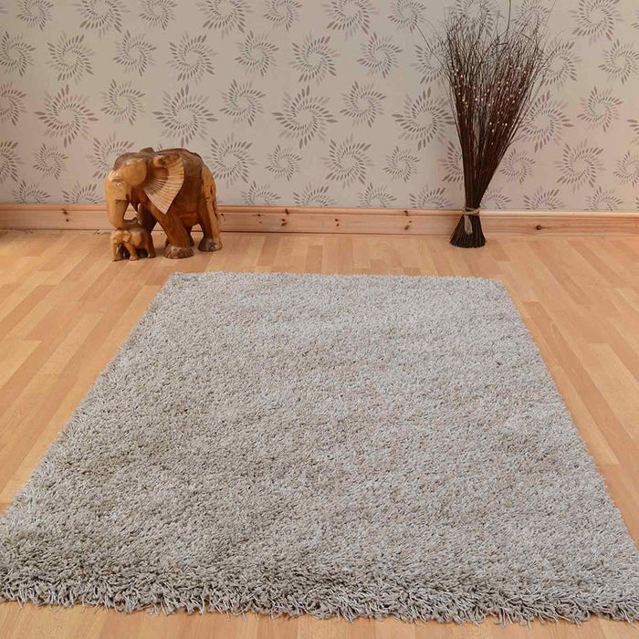 Twilight Beige Shaggy Rug-Shaggy Rug-Rugs Direct