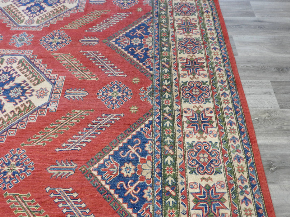 Afghan Hand Knotted Kazak Rug Size: 362 x 272cm