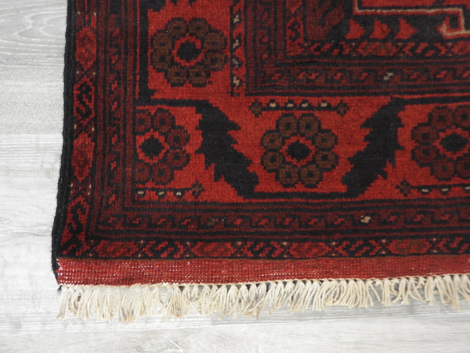 Afghan Hand Knotted Khal Mohammadi Rug Size: 295 x 202cm-Afghan Rug-Rugs Direct