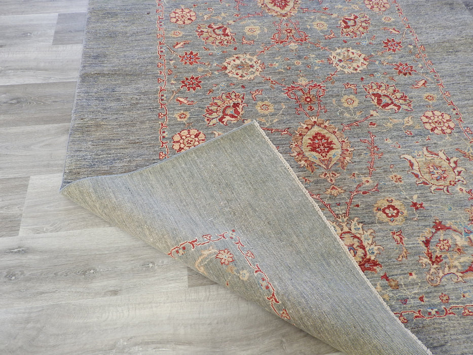 Afghan Hand Knotted Choubi Rug Size: 166 x 235cm-Afghan Rug-Rugs Direct