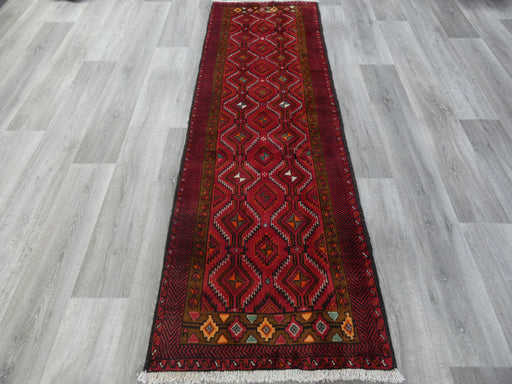 Persian Hand Knotted Baluchi Hallway Runner Size: 220 x 70cm