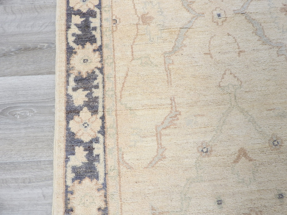 Afghan Hand Knotted Choubi Runner Size: 81 x 293cm-Hallway Runner-Rugs Direct