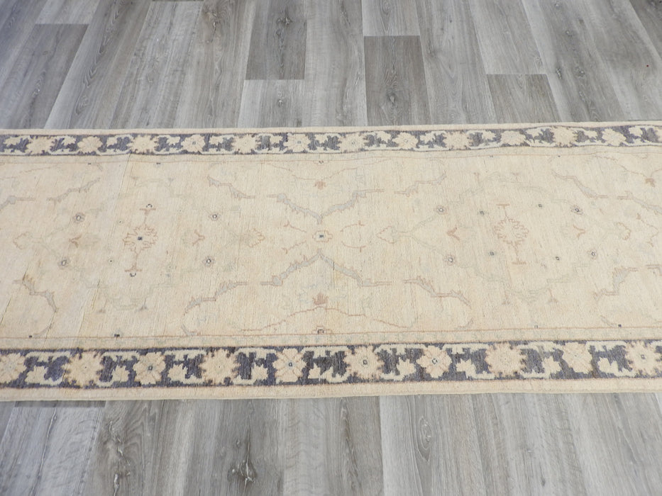 Afghan Hand Knotted Choubi Runner Size: 81 x 293cm