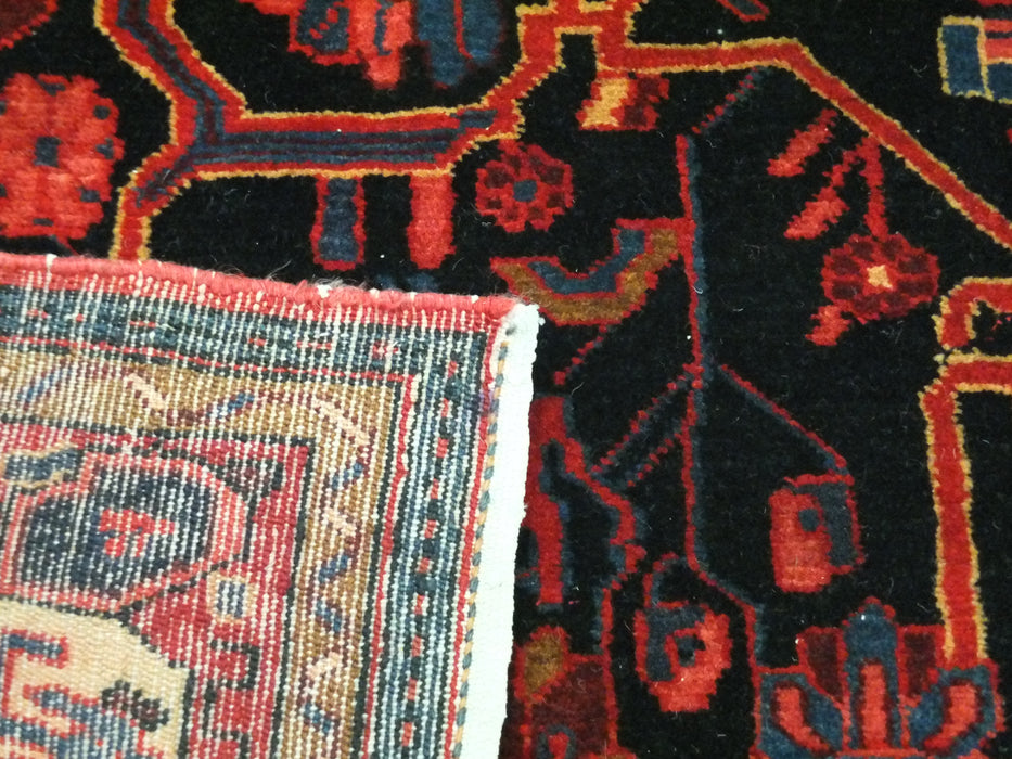 Vintage Persian Hand Made Nahavand Rug Size: 150 x 285cm-Unclassified-Rugs Direct