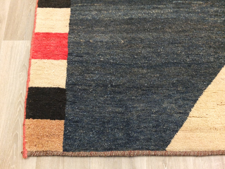 One Of A Kind Persian Gabbeh Rug Size: 170 x 205cm