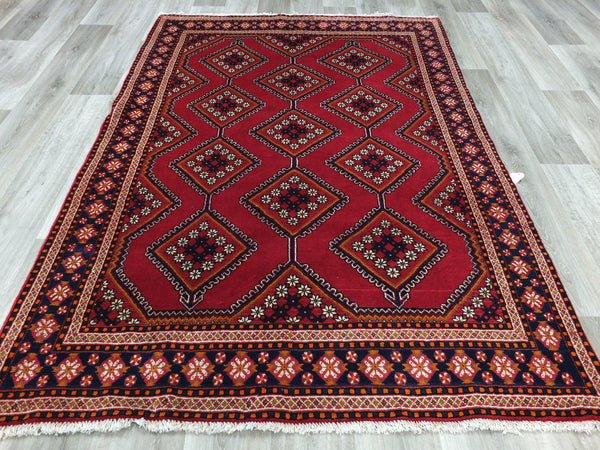 Bright Persian Handmade Babak Town Rug Size: 160 x 243cm