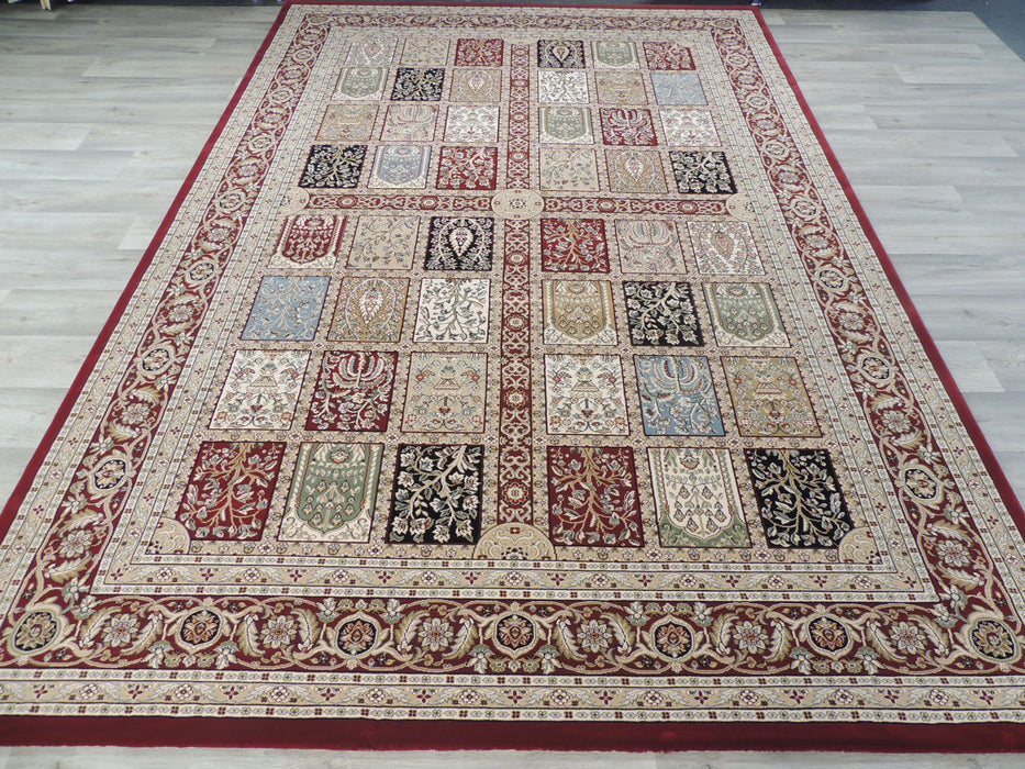 Top Quality Traditional Turkish Red Rug