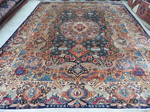 Persian Hand Knotted Kashmar Rug Size: 393 x 311cm