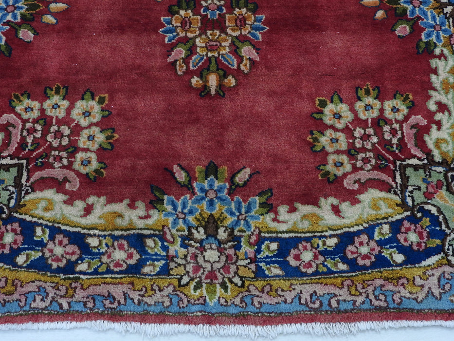 Persian Hand Knotted Kerman Rug Size: 150 x 93cm-Persian Rug-Rugs Direct