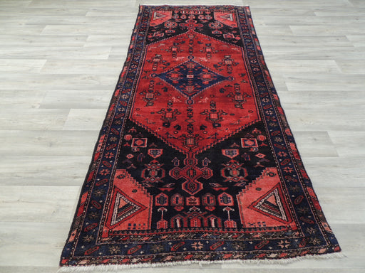 Persian Hand Made Hamedan Runner Size: 97 x 215cm-Unclassified-Rugs Direct