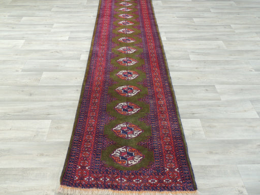 Hand Made Persian Antique Baluchi Runner Size: 70 x 270cm-Afghan Runner-Rugs Direct