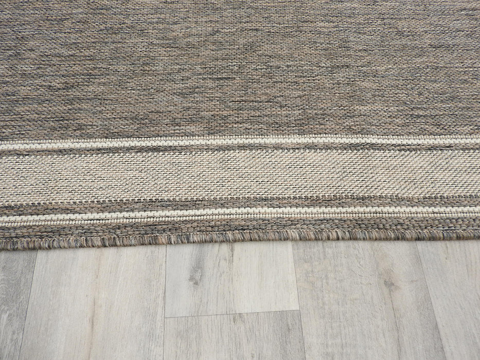 Sisal Look Flatweave Rubber Back Runner 67cm Wide x Cut to Order-Hallway Runner-Rugs Direct