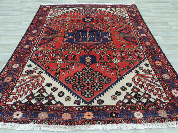 PERSIAN PURE WOOL SAVEH RUG (200  x 155cm)
