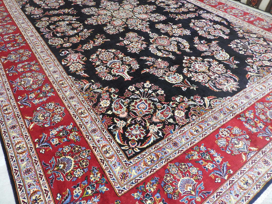 Persian Hand Knotted Kashan Rug Size: 435 x 310cm-Persian Rug-Rugs Direct
