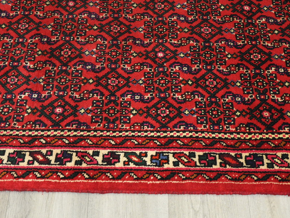 Persian Hand Knotted Hossein Abad Runner Size: 80 x 1081cm-Hallway Runner-Rugs Direct
