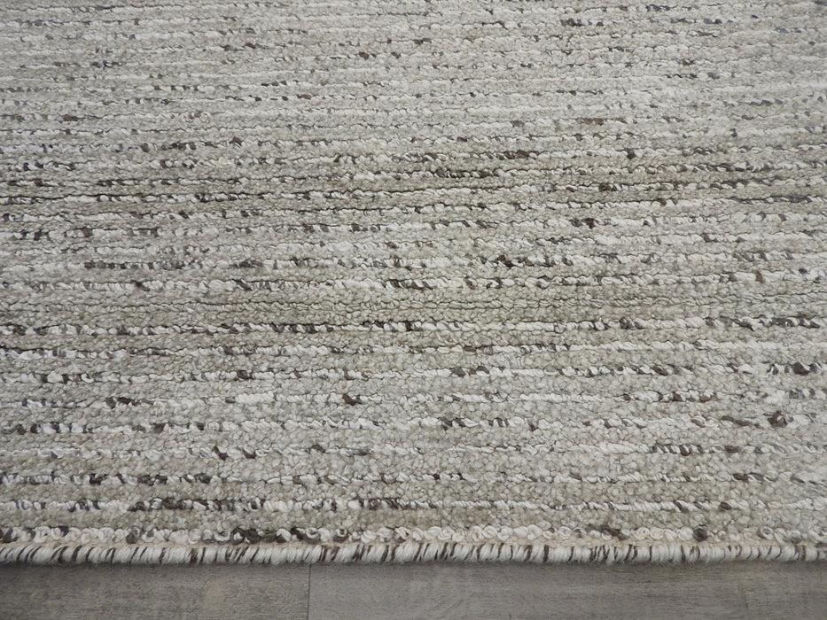 Hand Made Wool & Bamboo Silk Rug