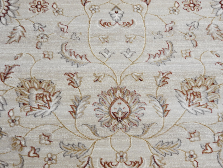Cream And Orange Traditional Design Turkish Rug-Traditional Design-Rugs Direct
