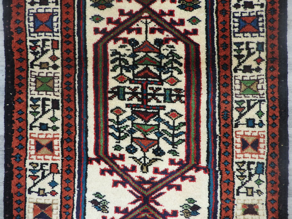 Persian Hand Knotted Hamadan Hallway Runner Size: 276 x 66cm-Persian Rug-Rugs Direct