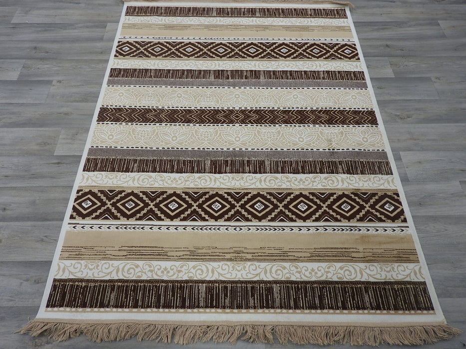 Silky Traditional Design Rug Size: 138 x 200cm-Traditional Design-Rugs Direct