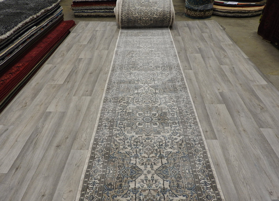 Soft Traditional Turkish Hallway Runner 80cm Wide x Cut to Order-Runners-Rugs Direct