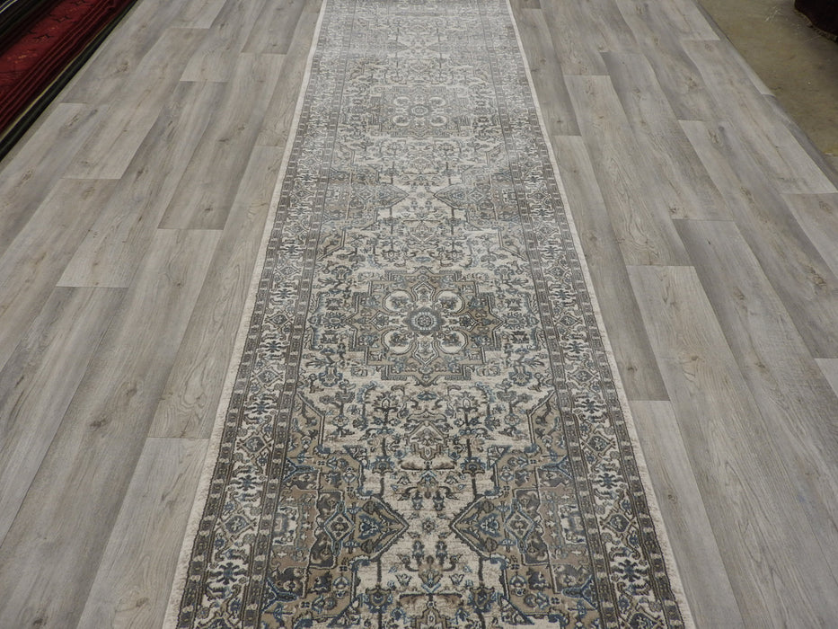 Soft Traditional Turkish Hallway Runner 80cm Wide x Cut to Order