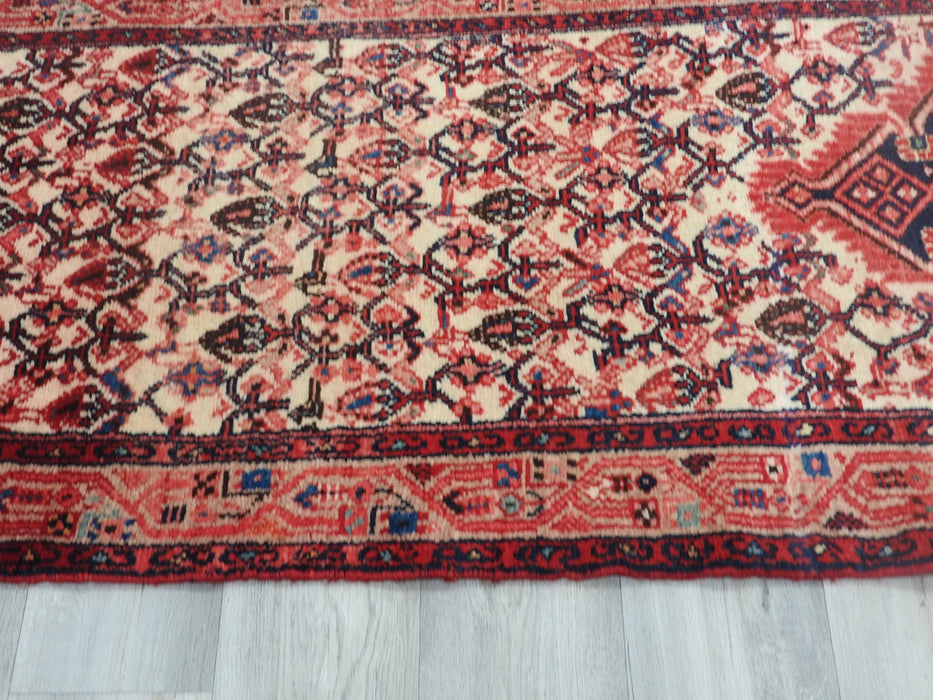 Persian Hand Knotted Hamedan Hallway Runner Size: 290 x 79cm-Hallway Runner-Rugs Direct
