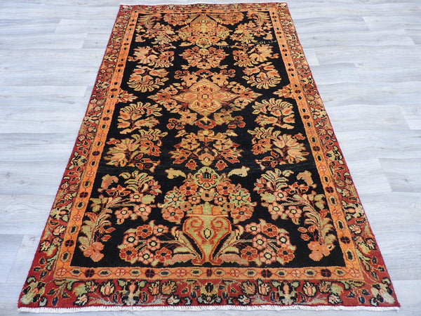 Persian Hand Knotted Lilian Rug Size: 193 x 120cm