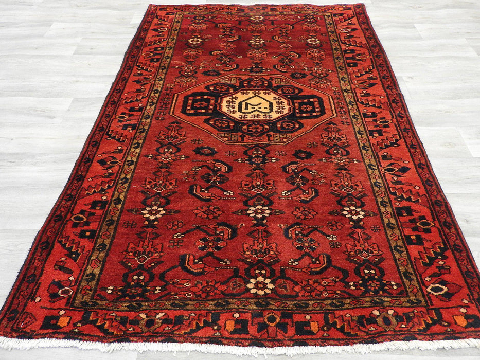 Persian Hand Knotted Hamedan Rug Size: 130 x 190cm-Physical-Rugs Direct