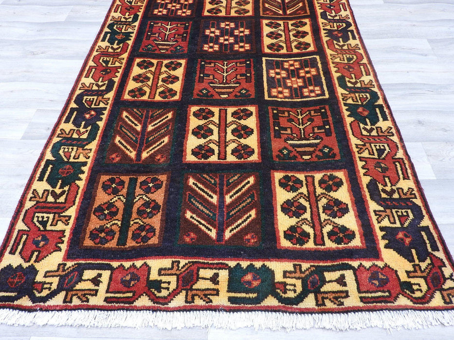 PERSIAN HAND MADE BAKHTIARI RUG (220 x 123 cm)-Persian Rug-Rugs Direct