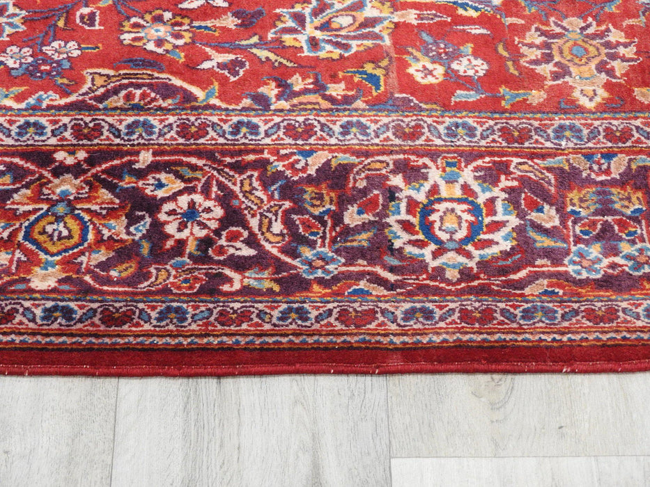 Persian Hand Knotted Kashan Rug Size: 216 x 140cm
